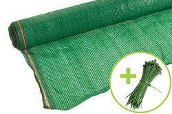 Siatka cieniująca 1,5x50m 60 g/m2 55% UV Zielona