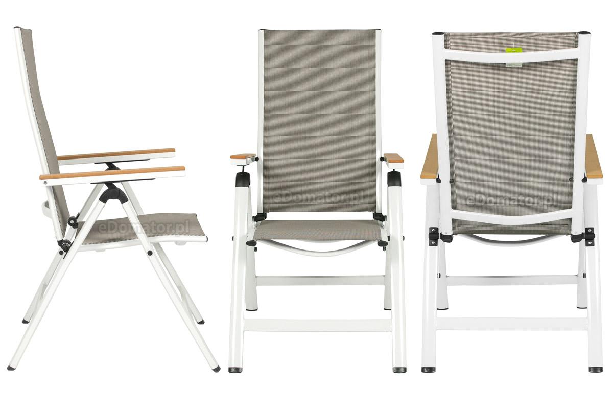 Wyprzedaż Krzesło Ogrodowe Verona Legno Białe