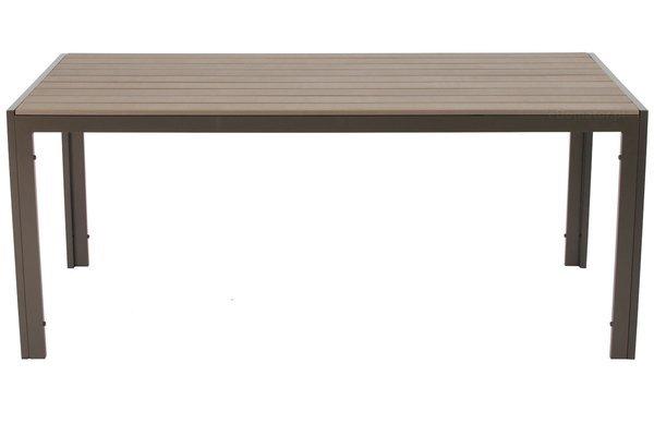 Duży 8 osobowy zestaw mebli ogrodowych MODENA MAX - Brązowy
