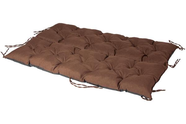 Gruba poduszka na huśtawkę 180/60/60 - Brąz