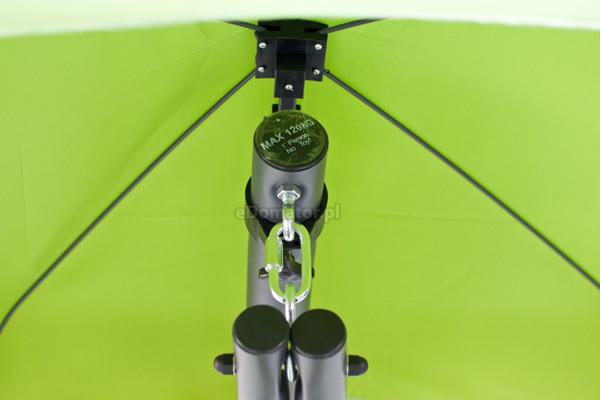 HAMAK ze stelażem 1-osobowy - zielony