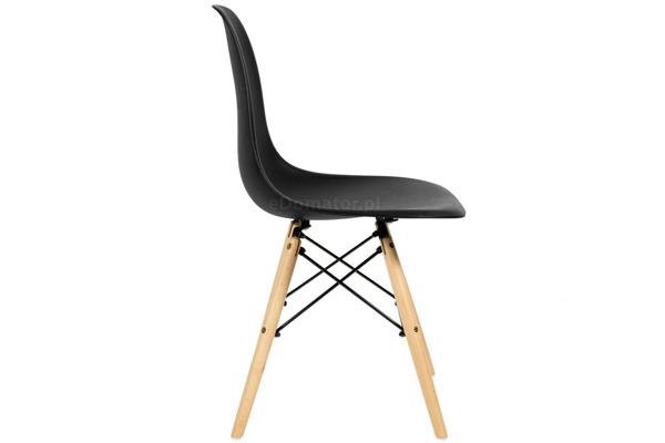 Krzesło do jadalni MEDIOLAN czarne - 4 szt.