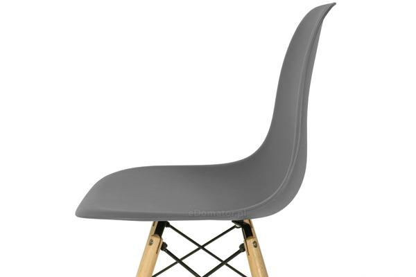 Krzesło do jadalni MEDIOLAN grafitowe - 4 szt.