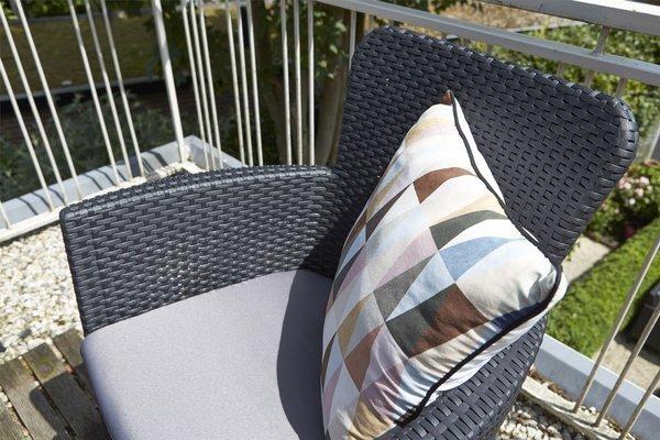 Krzesło fotel ogrodowy MIAMI rattan style - grafitowy