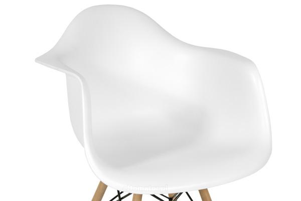 Krzesło nowoczesne FLORENCJA białe - 4 szt.