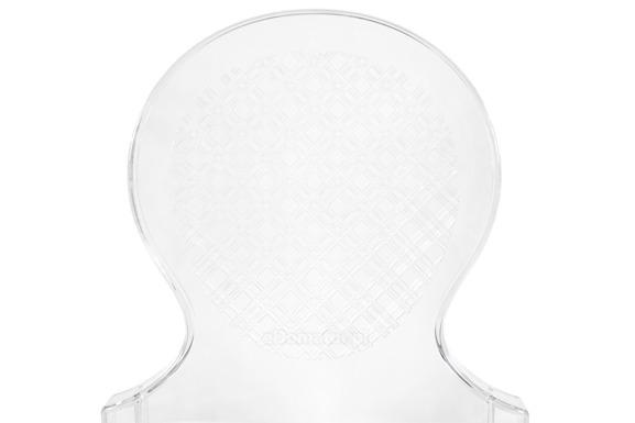 Krzesło plastikowe ARMONY - bezbarwne