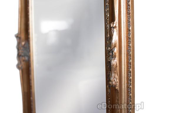 Lustro ozdobne MICHAELLE - złote
