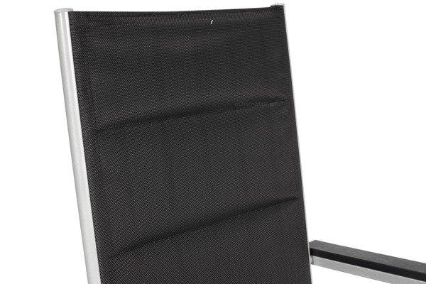 OUTLET - Krzesło ogrodowe MODENA - Czarne