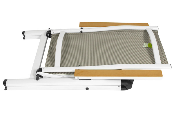 OUTLET - Krzesło ogrodowe VERONA LEGNO - białe