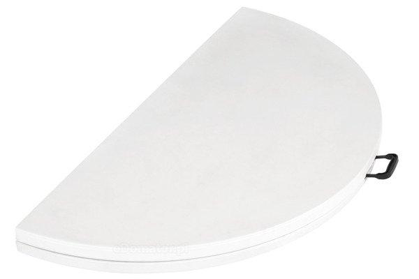 OUTLET - STÓŁ CATERINGOWY OKRĄGŁY Składany 160 cm Biały