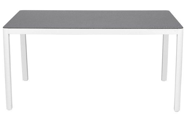 OUTLET - Stół ogrodowy VERONA VETRO - Biały
