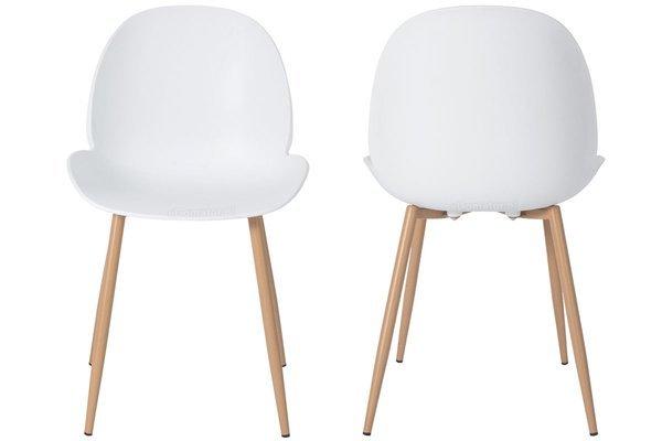 OUTLET - krzesło do jadalni GALA - białe