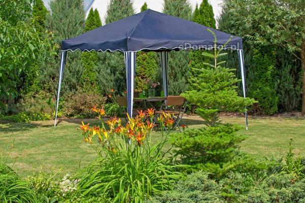 Pawilon ogrodowy - niebieski