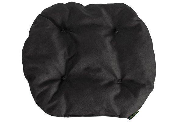 Poduszka na krzesło KAMILA 43 x 40 cm - czarna