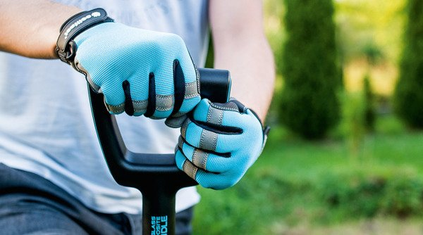 Rękawice narzędziowe rozmiar 10/xL ERGO - niebieskie