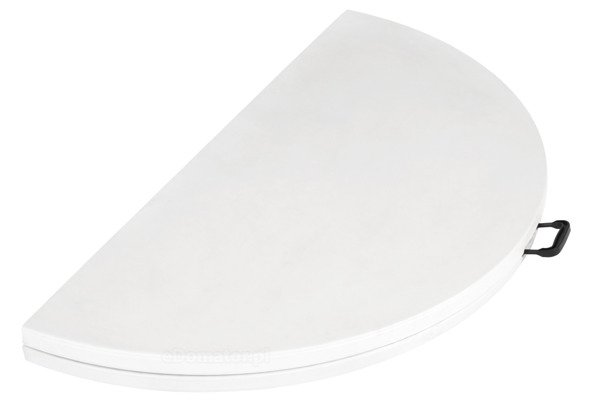 STÓŁ CATERINGOWY OKRĄGŁY Składany 180 cm Biały