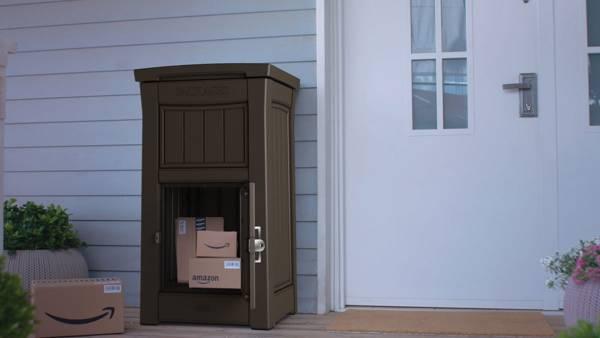 Schowek skrzynka na paczki i listy PARCEL BOX KETER - grafitowa