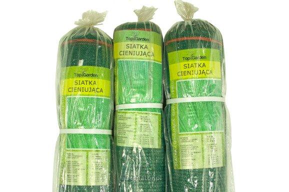 Siatka cieniująca 1,5x25m 95% 170g/m2  UV Zielona