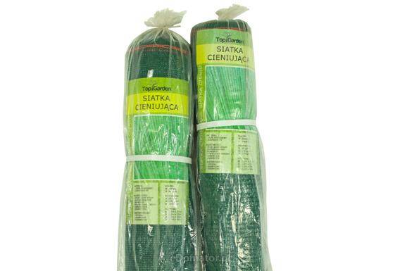 Siatka cieniująca 1,5x50m 100 g/m2 60% UV Zielona