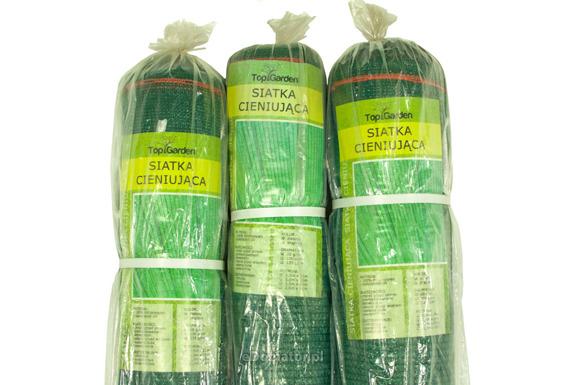 Siatka cieniująca 1,5x50m 95% 170g/m2  UV Zielona