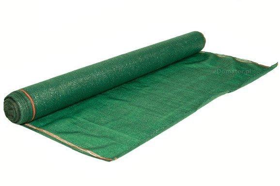 Siatka cieniująca 2,0x50m 90% 135g/m2  UV Zielona