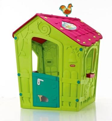 Składany domek dla dzieci KETER Magic Play House - zielony