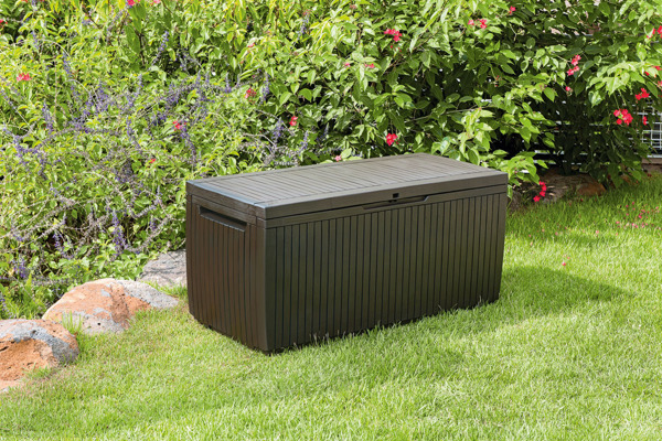 Skrzynia ogrodowa SPRINGWOOD STORAGE BOX 305 l - brązowa