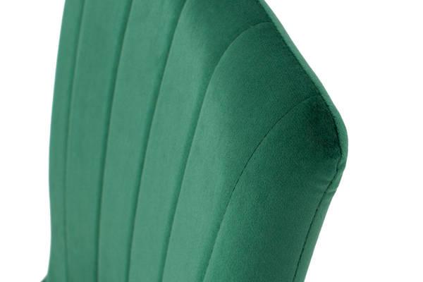 Stół PORTLAND (200/160x90) i 8 krzeseł SOFIA - komplet mebli do salonu - szaro-zielony