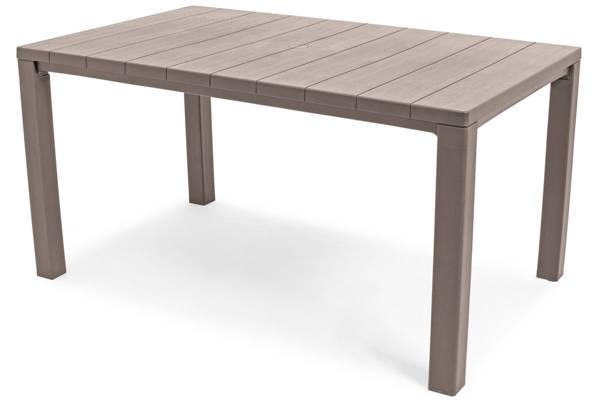 Stół ogrodowy plastikowy JULIE - cappuccino