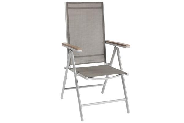 WYPRZEDAŻ - Krzesło ogrodowe MODENA 3 z podłokietnikami
