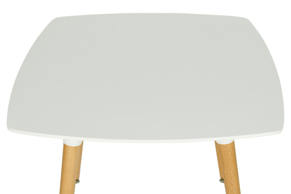 Zestaw mebli do jadalni MEDIOLAN stół i 4 krzesła - biały