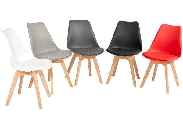 Zestaw mebli do jadalni stół kwadratowy MEDIOLAN i 4 krzesła BOLONIA